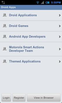 Droid Forums apk screenshot