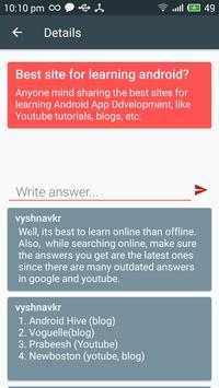 Quorate apk screenshot