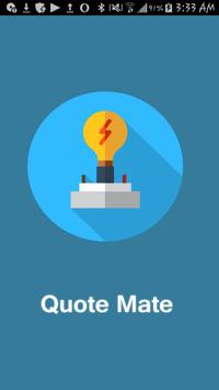 Quote Mate poster
