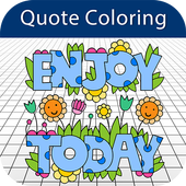 Coloring Book - Inspiration Quote icon