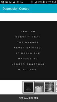 Depression Quotes poster