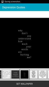 Depression Quotes apk screenshot