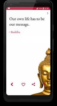 Buddha Quotes screenshot 1
