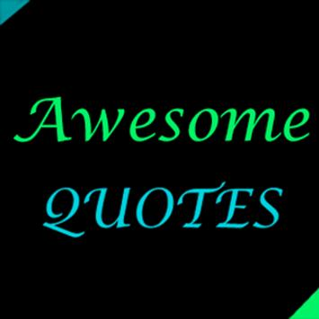Awesome Quotes poster