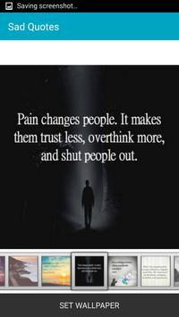 Sad Quotes apk screenshot