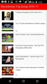 Macedonian Top Songs apk screenshot