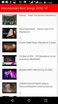 Macedonian Best Songs apk screenshot