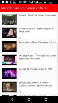 Macedonian Best Songs poster