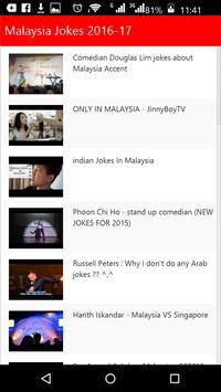 Malaysia Jokes poster