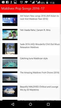 Maldives Pop Songs apk screenshot