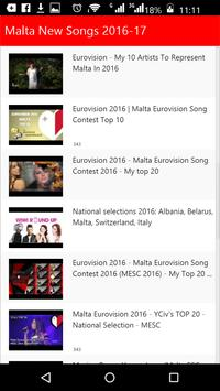 Malta New Songs apk screenshot