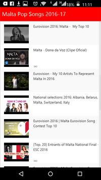 Malta Pop Songs poster
