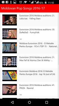 Moldovan Pop Songs apk screenshot