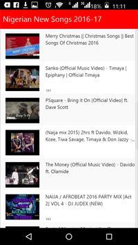 Nigerian New Songs apk screenshot