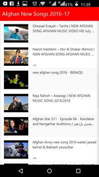 Afghan New Songs screenshot 3