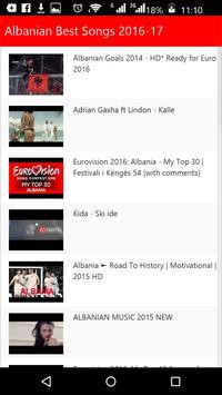 Albanian Best Songs apk screenshot