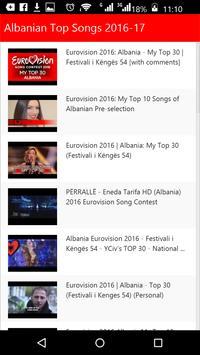 Albanian Top Songs screenshot 1