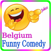 Belgium Funny Jokes icon