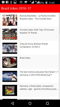 Brazil Jokes apk screenshot