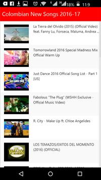 Colombian New Songs apk screenshot
