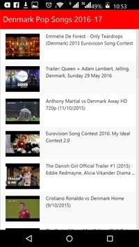 Denmark  Pop Songs apk screenshot