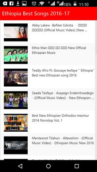Ethiopia Best Songs apk screenshot