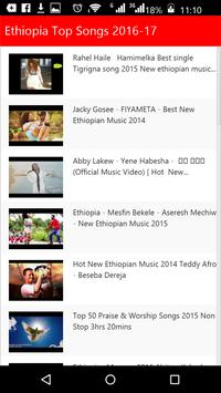 Ethiopia Top Songs poster
