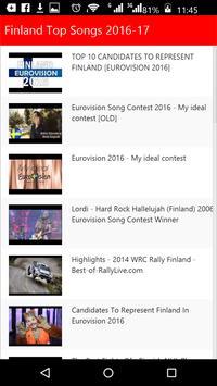 Finland Top Songs apk screenshot