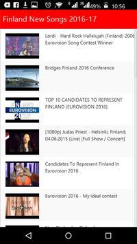 Finland New Songs apk screenshot