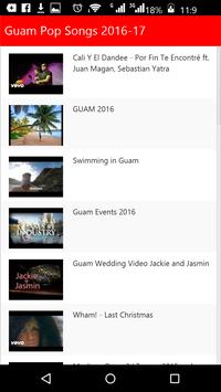 Guam Pop Songs apk screenshot
