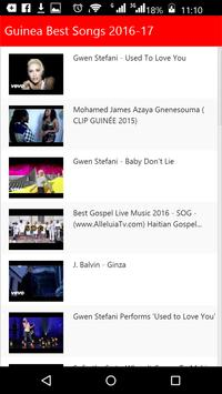 Guinea Best Songs apk screenshot
