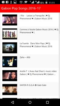 Gabon Pop Songs screenshot 1