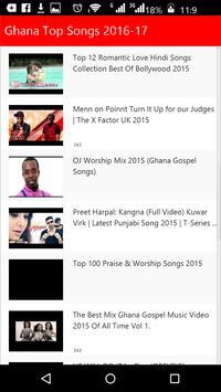 Ghana Top Songs screenshot 1