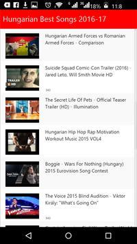 Hungarian Best Songs screenshot 2