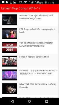 Latvian Pop Songs screenshot 1
