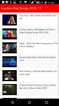 London  Pop Songs screenshot 2