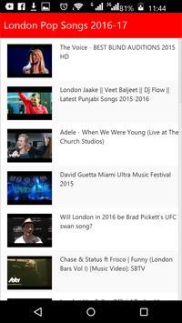 London  Pop Songs screenshot 5