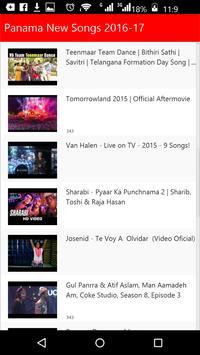 Panama New Songs apk screenshot