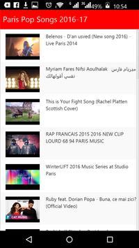 Paris Pop Songs screenshot 1