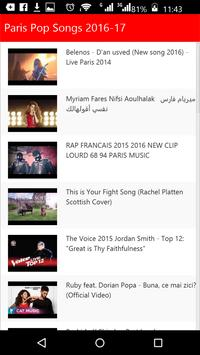 Paris Pop Songs screenshot 2