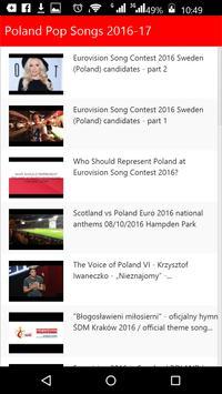 Poland Pop Songs screenshot 1