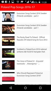 Poland Pop Songs apk screenshot