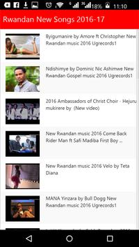 Rwandan New Songs apk screenshot
