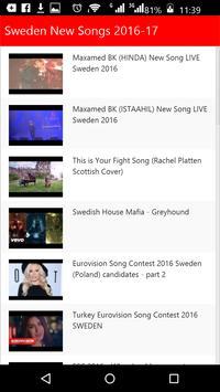 Sweden New Songs apk screenshot