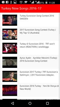 Turkey New Songs apk screenshot