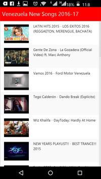 Venezuela New Songs apk screenshot