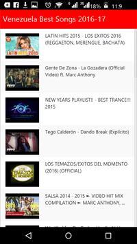 Venezuela Best Songs screenshot 1
