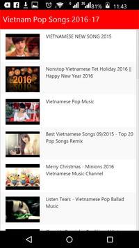Vietnam  Pop Songs poster