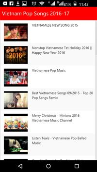 Vietnam  Pop Songs screenshot 2