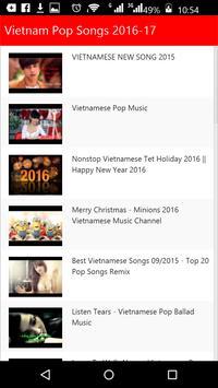 Vietnam  Pop Songs screenshot 3